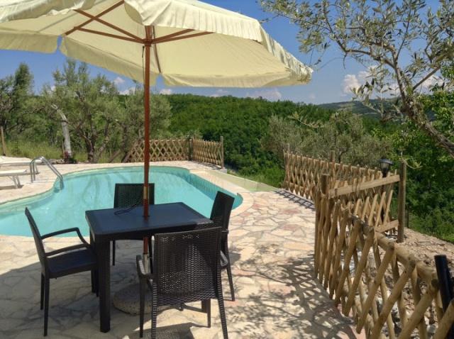 Vakantiehuis Met 2 Appartementen En Zwembad 8 Personen 60