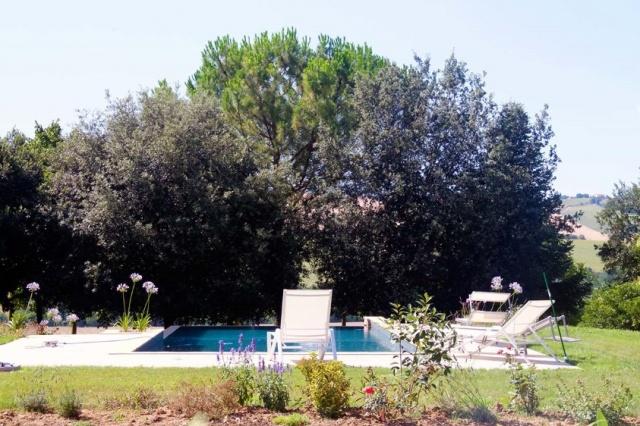 Villa Met 4 Appartementen Zwembad Filottrano 9a