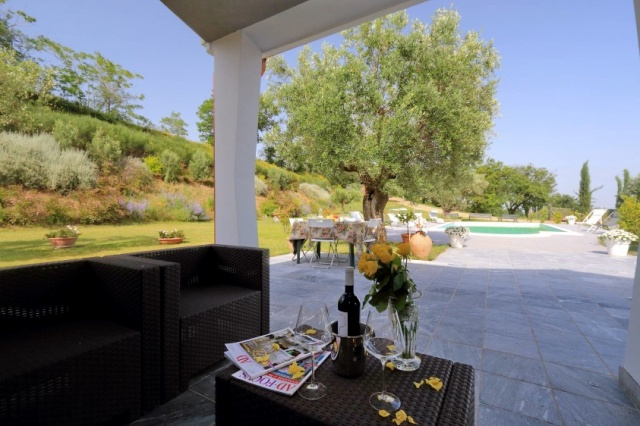 Villa Zwembad Airco Cingoli 7