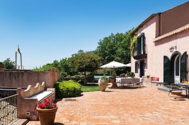 Vrijstaande Vakantiewoning Natuurpark Etna Sicilie 12d