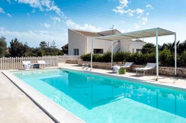Zeer Luxe Villa Zwembad Zee Sicilie 1