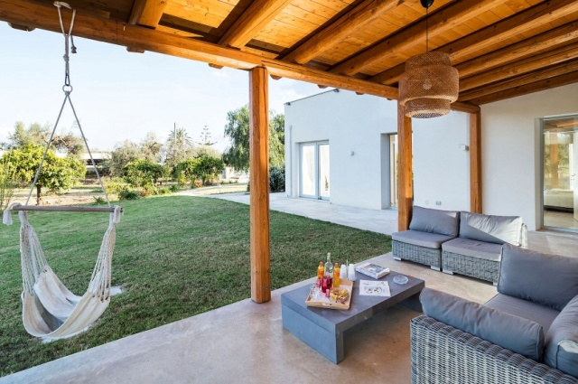 Zeer Luxe Villa Zwembad Zee Sicilie 15