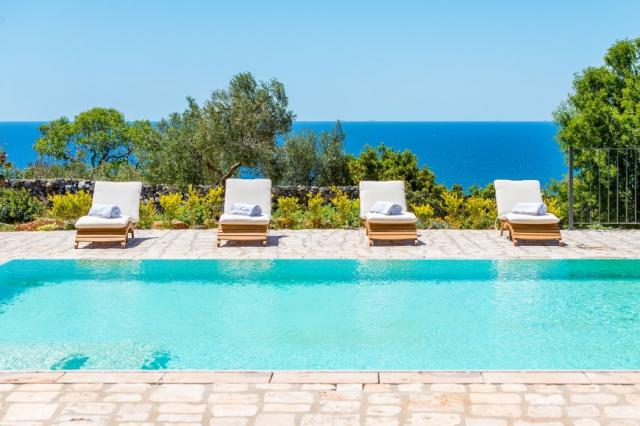 Zuid Puglia Leuca Villa 4 Km Van Zee 17
