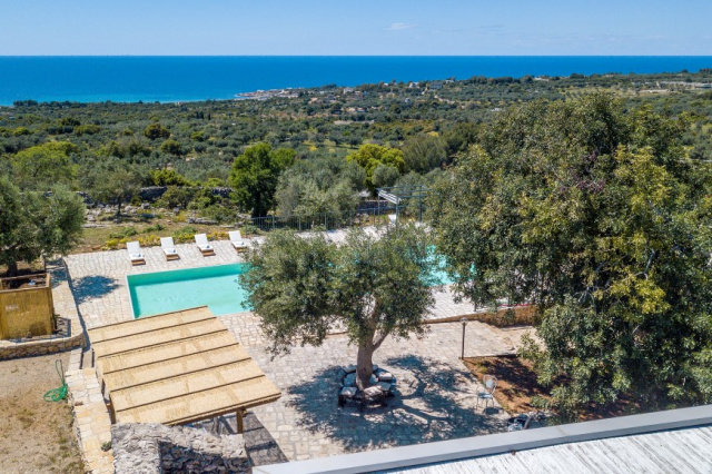 Zuid Puglia Leuca Villa 4 Km Van Zee 5