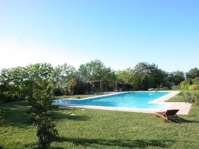 Agriturismo Abruzzo Italie Zwembad 2