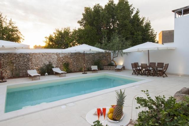 App Salento Gedeeld En Verwarmd Zwembad Puglia 6