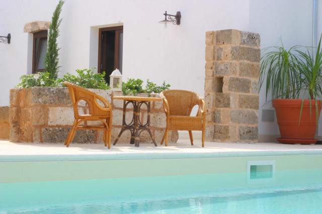 App Salento Gedeeld En Verwarmd Zwembad Puglia 9
