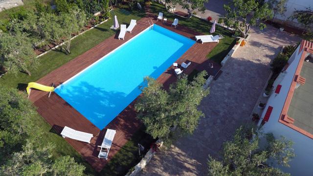 Gargano Puglia Agriturismo Aan De Kust In Vieste Met Zwembad En Manege 17