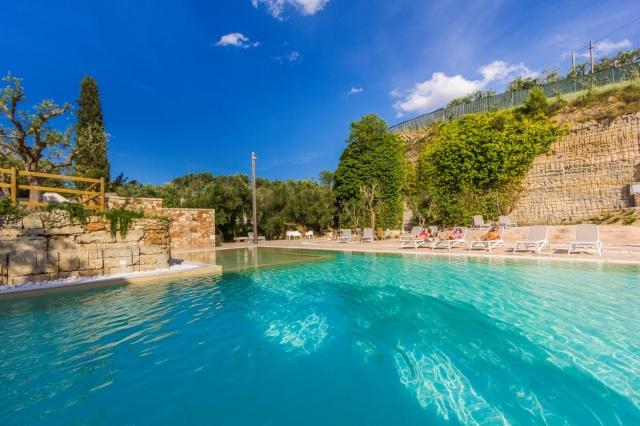 Monolocale App Vakantiepark Met Zwembad Lecce 16