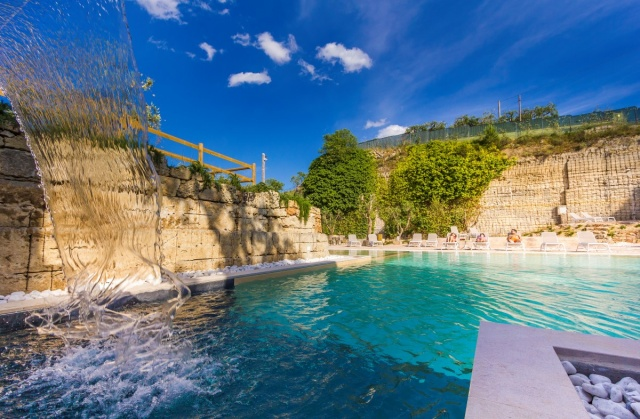 Monolocale App Vakantiepark Met Zwembad Lecce 18