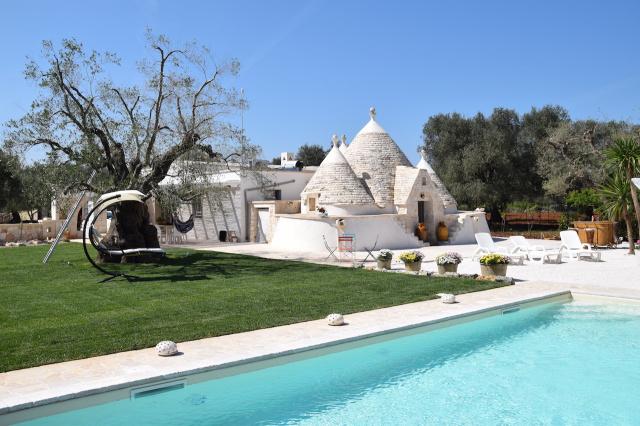 Puglia Trullo Vrijstaand Met Eigen Zwembad Voor 6 Personen 0