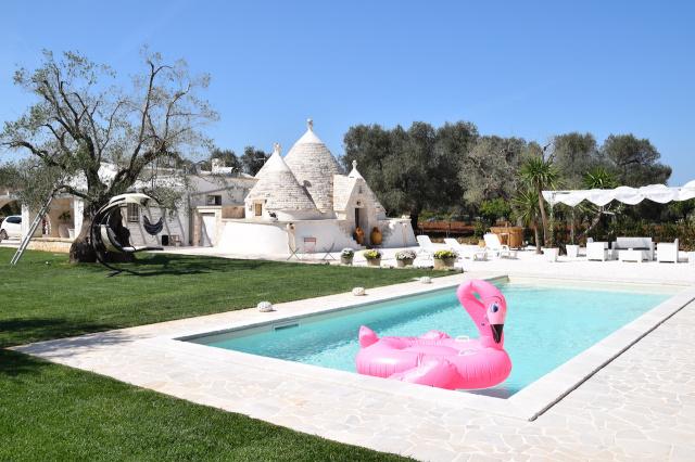Puglia Trullo Vrijstaand Met Eigen Zwembad Voor 6 Personen 32