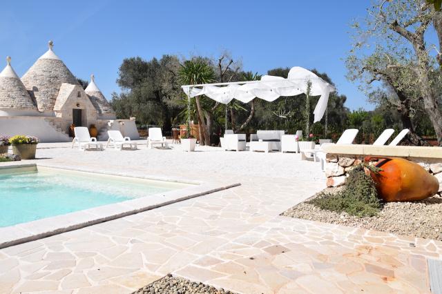 Puglia Trullo Vrijstaand Met Eigen Zwembad Voor 6 Personen 4