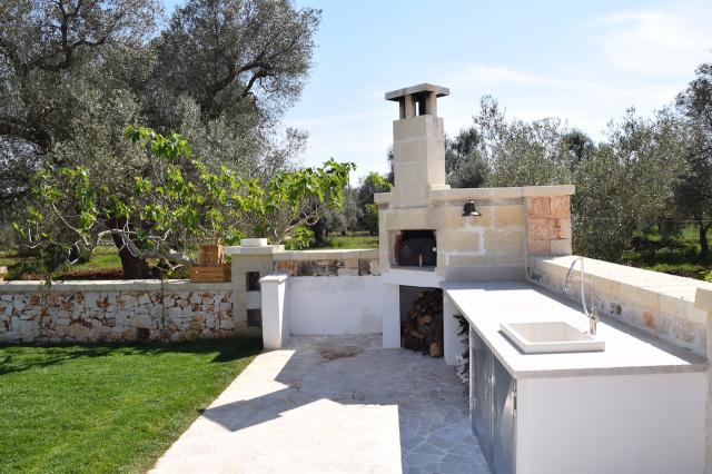 Puglia Trullo Vrijstaand Met Eigen Zwembad Voor 6 Personen 7