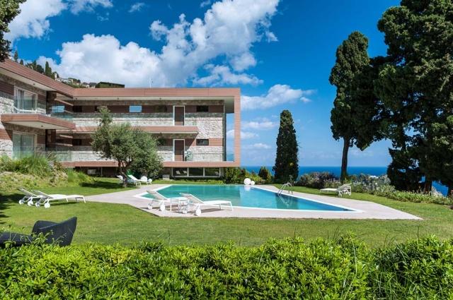 Sicilie Taormina Luxe Vakantieappartementen Met Zeezicht En Zwembad 20