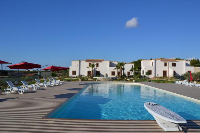Sicilie Trapani Appartamenten Met Zwembad Vlakbij Zee En Zoutpannen 1e