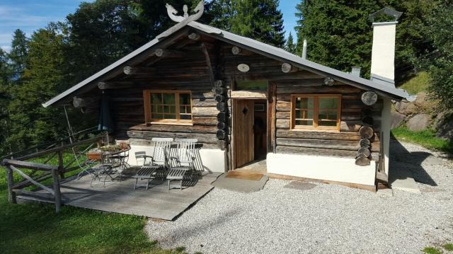 Sudtirol vakantie prachtige berghut - Berghut foto ...
