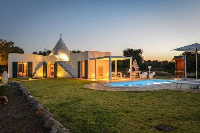 Trullo Vakantiehuis In Carovigno Met Eigen Zwembad 11
