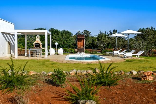 Trullo Vakantiehuis In Carovigno Met Eigen Zwembad 2