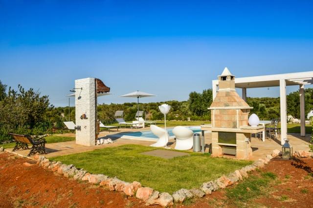 Trullo Vakantiehuis In Carovigno Met Eigen Zwembad 3