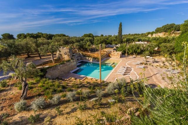 Vakantiepark Salento Lecce Zwembad 10