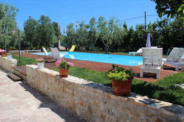 Vieste Agriturismo Met Zwembad En Manege Aan De Kust 1a