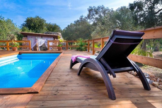 Villa Met Overdekte Veranda En Zwembad Bij Otranto 1