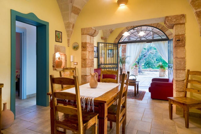 Villa Met Overdekte Veranda En Zwembad Bij Otranto 16