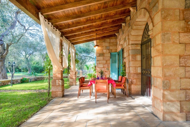 Villa Met Overdekte Veranda En Zwembad Bij Otranto 7
