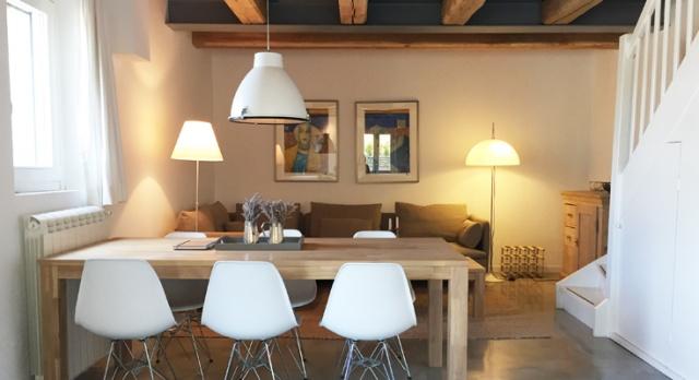 02 Villa Montecalvo Appartement Vista Mare Woonkamer