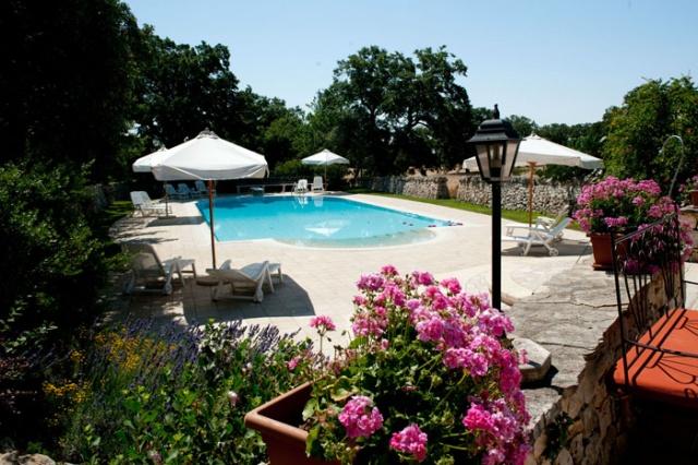 1 Benedenwoning In Masseria Met Gedeeld Zwembad