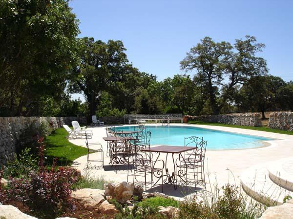 3 Vakantiewoning Met Zwembad In Oude Masseria