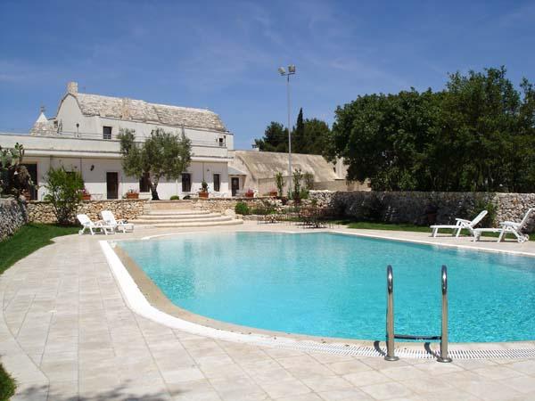 5 Vakantiewoning Met Zwembad In Oude Masseria