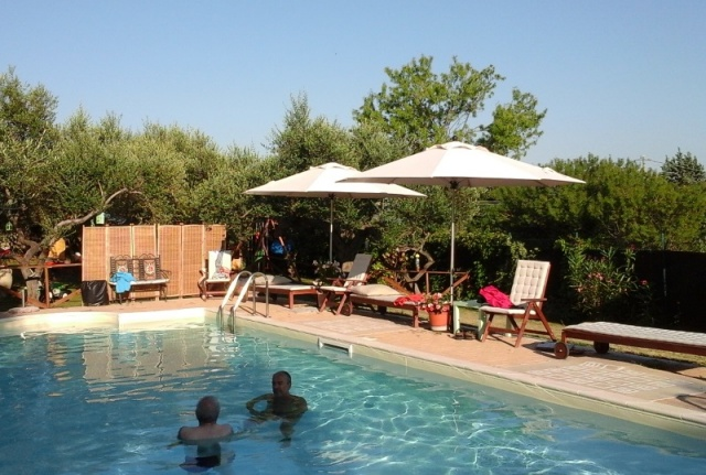 Abruzzo Pianella Agriturismo Zwembad 9
