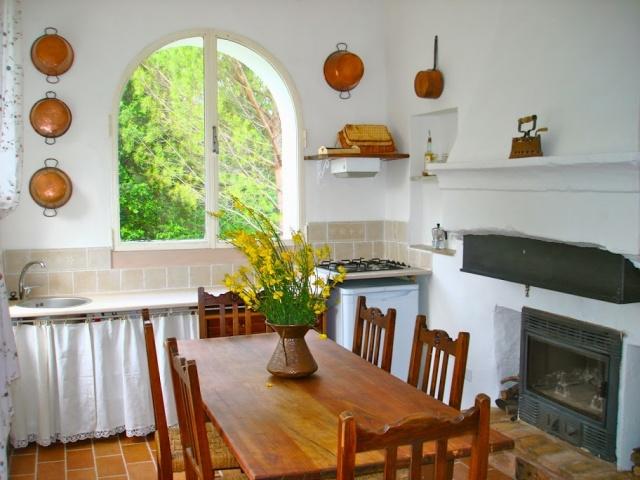 Abruzzo Agriturismo Appartement ABV0120B Keuken