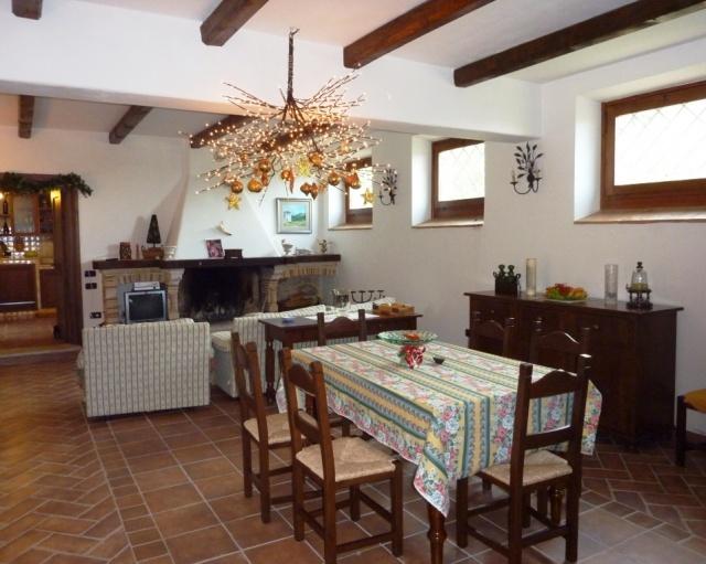 Abruzzo Vakantiehuis Met Woonkamer