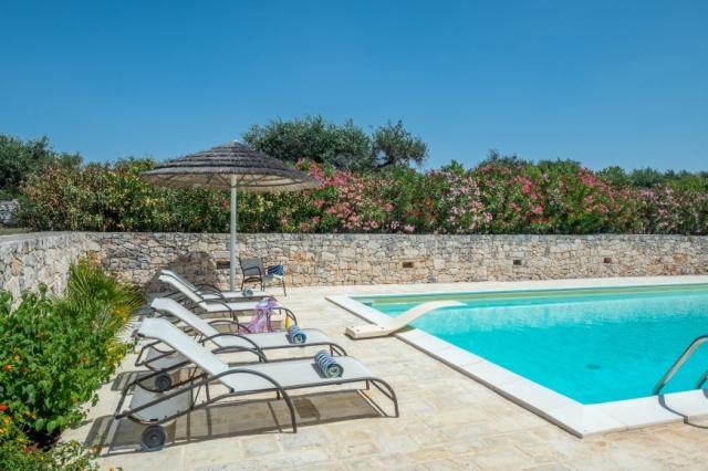 Alberobello Trulli Appartement Zwembad 4
