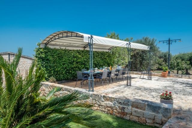 Alberobello Trulli Appartement Zwembad Veranda 1