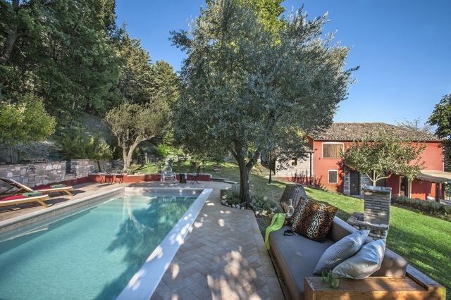 Appartement Met Zwembad In Villa Le Marche 34