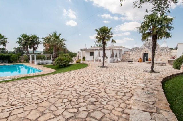 Authentieke Trullo 10p Pool Puglia 3