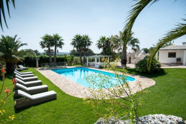 Authentieke Trullo 10p Pool Puglia 9