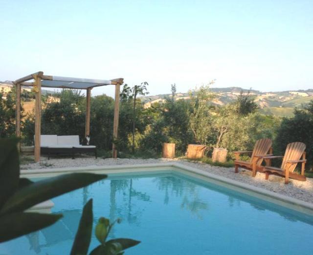 Grote Vrijstaande Woning Voor 12p Met Zwembad In Le Marche 2b