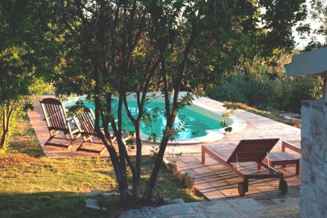 Historische Trullo Voor 6p Vlakbij Stranden Met Zwembad In Puglia 23