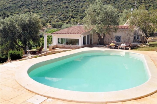 Historische Trullo Voor 6p Vlakbij Stranden Met Zwembad In Puglia 26