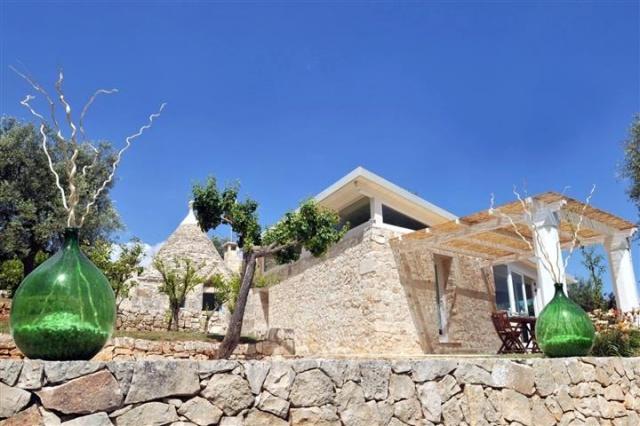 Historische Trullo Voor 6p Vlakbij Stranden Met Zwembad In Puglia 3a