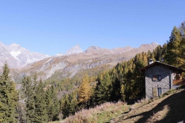 Italie Val D Aosta Vakantie Chalet Prachtig Uitzicht Zomer En Winter 01