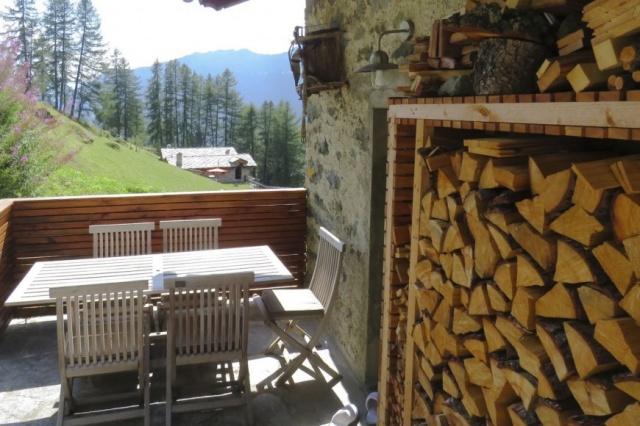 Italie Val D Aosta Vakantie Chalet Prachtig Uitzicht Zomer En Winter 06
