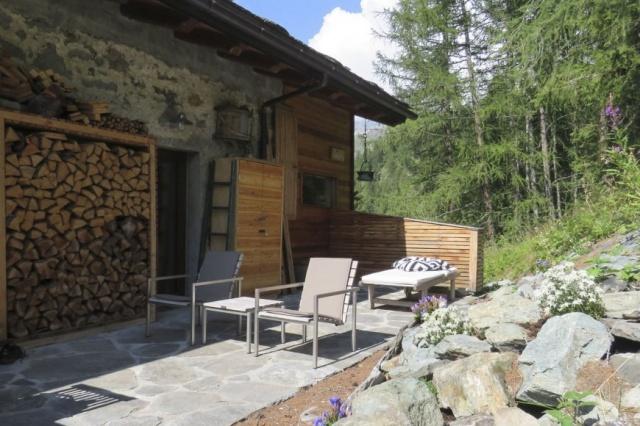 Italie Val D Aosta Vakantie Chalet Prachtig Uitzicht Zomer En Winter 07