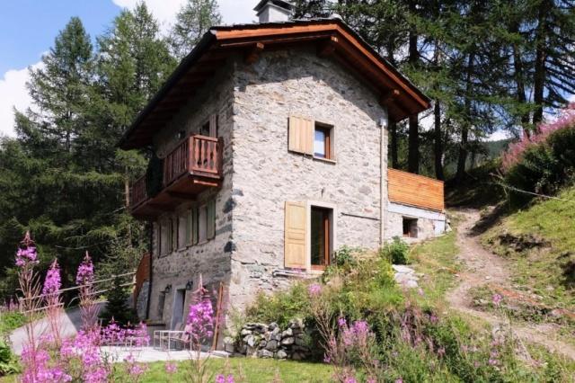 Italie Val D Aosta Vakantie Chalet Prachtig Uitzicht Zomer En Winter 32