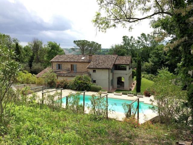 Le Marche Barchi, Luxe Vrijstaande Villa Zwembad Mooie Uitzichten 1f